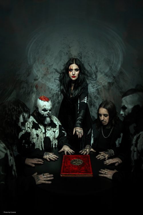 Lacuna Coil band photo 2019