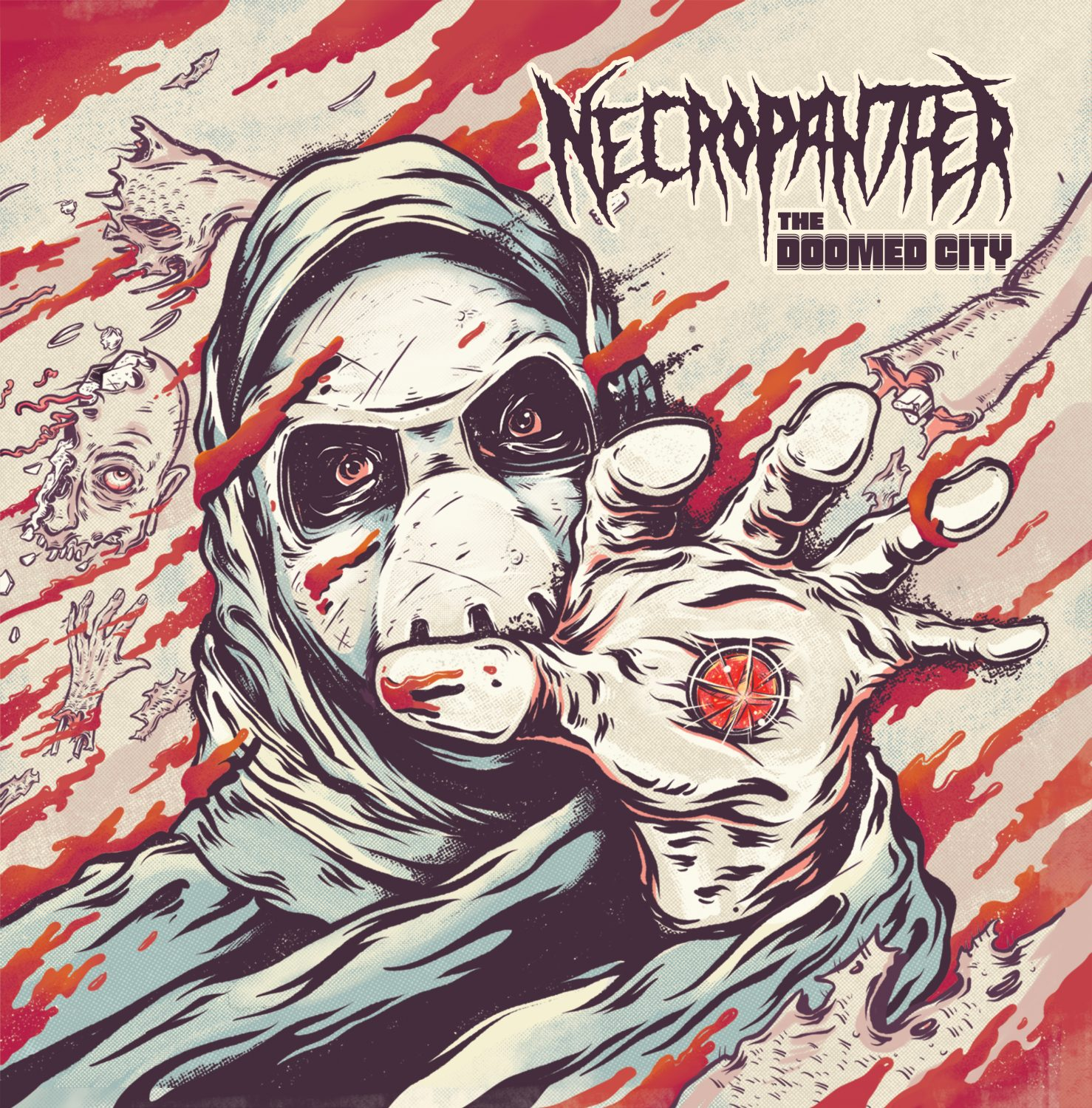 Necropanther - The Doomed City Review | Angry Metal Guy