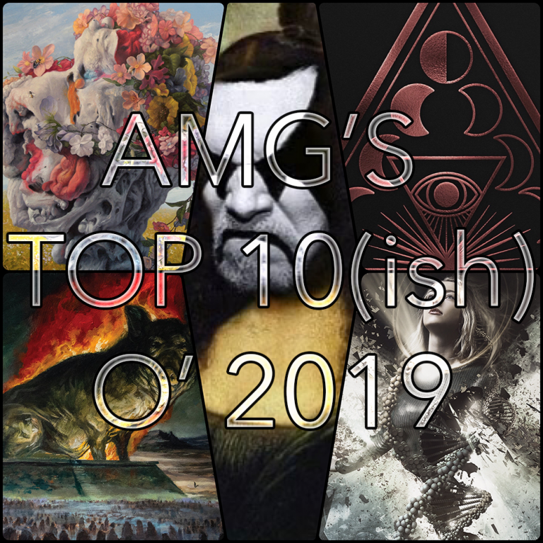 Angry Metal Guy's Top Ten(ish) o' 2019