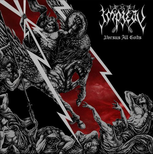 Impiety Band The Impious Crusade 2013 Album Cover T-Shirt