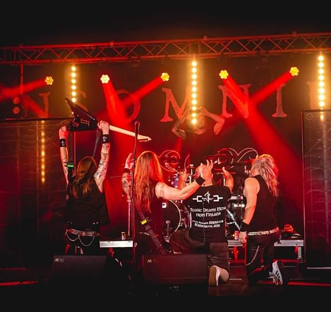 Insomnium/Omnium Gatherum Livestream Concert Review
