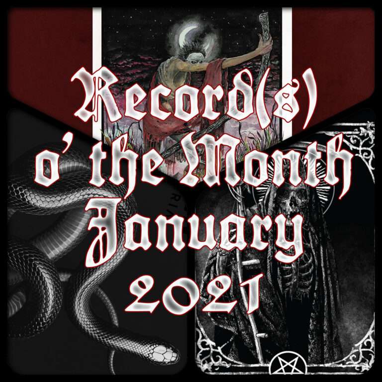 Record(s) o' the Month – January 2021