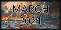 An image that says March 2021 and links to the Record(s) o' the Month post from March