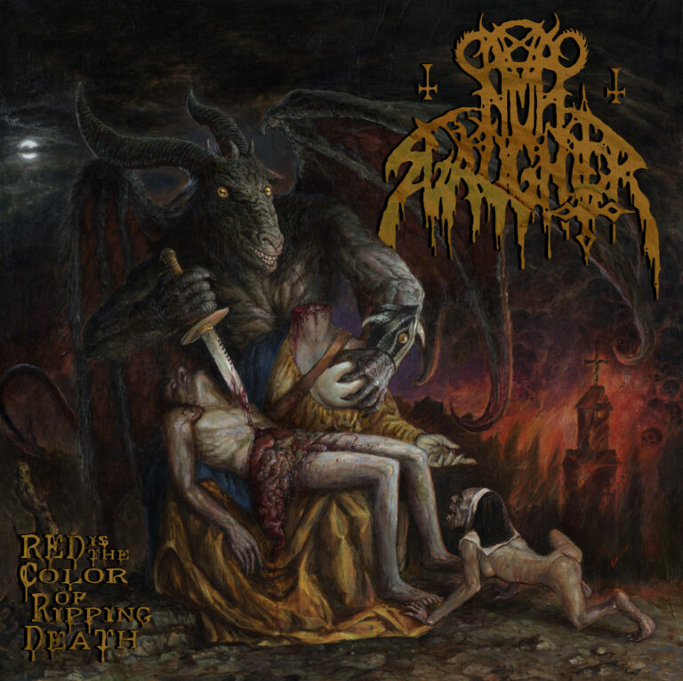 Nunslaughter – Red Is the Color of Ripping Death Review
